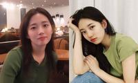"""Nữ sinh được netizen nô nức """"xin info"""" vì trông như chị em sinh đôi với các mỹ nhân K-Pop"""
