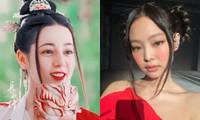 """Cùng để """"tóc hai râu"""", Địch Lệ Nhiệt Ba và Jennie ai được khen, ai bị """"dìm""""?"""
