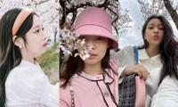 Dàn mỹ nhân K-Pop ngắm hoa anh đào: Jennie (BLACKPINK) nổi nhất nhờ trang phục thời thượng