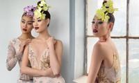 Đại diện Malaysia rủ Hoa hậu Khánh Vân chụp bộ ảnh chung, nhìn đến trang phục mới bất ngờ
