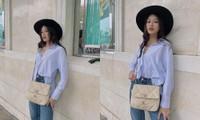 Hoa hậu Đỗ Thị Hà khoe món đồ hàng hiệu mới, nâng cấp sang thương hiệu xịn sò hơn hẳn