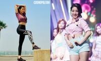 """Không thể nhận ra nữ idol dáng siêu nuột này là cô nàng """"vận động viên cử tạ"""" Jihyo TWICE"""