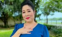 Từng xin lỗi khán giả vì quảng cáo nhầm, NSND Hồng Vân lại phải gỡ một bài đăng Facebook