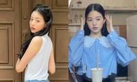 Thử nghiệm trang điểm nhợt nhạt kiểu Jennie, Jang Won Young có được khen như đàn chị?
