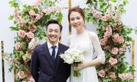 Chỉ vì cao hơn chồng 'đại gia' mà Đàm Thu Trang phải làm điều 'trớ trêu' này ở đám cưới