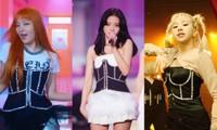 Hiếm khi BLACKPINK, TWICE và Red Velvet diện chung đồ, mẫu corset này có gì hấp dẫn thế?