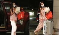 Khán giả sửng sốt với bộ đồ Lan Ngọc mặc ra sân bay, đúng kiểu 'mặc thà không mặc'