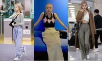 Không phải váy ngắn, bí kíp giúp chân dài miên man của Rosé BLACKPINK là quần ống rộng
