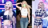 """Jeon Somi chuẩn """"nữ hoàng khoe eo"""": Chỉ cần diện quần jeans áo lửng là đẹp miễn bàn!"""