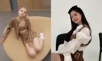 Diện crop-top giống Jennie, Rosé nhưng Dahyun (TWICE) có màn phối đồ cực sáng tạo