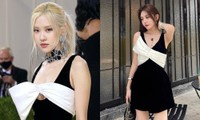 """Váy của Rosé tại Met Gala vẫn gây ồn ào: Đụng hàng Dương Mịch, """"cháy hàng"""" trên Taobao"""
