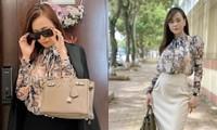 """Phương Oanh mặc lại đồ cũ từ phim """"Lựa Chọn Số Phận"""" sang """"Hương Vị Tình Thân""""?"""