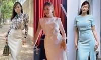 Vừa mới đổi style váy ôm sát, Phương Oanh (Hương Vị Tình Thân) đã bị khán giả hiểu lầm