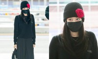 Trang phục ra sân bay đi Paris của Jennie lộ điểm bất thường, vì sao có miếng dán trên áo?