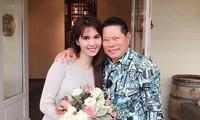 Vị tỷ phú nhận chăm sóc 23 con nuôi của Phi Nhung đã từng là chồng sắp cưới của Ngọc Trinh