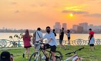 Trào lưu mùa dịch: Đạp xe quanh hồ, du lịch tại chỗ vấp phải nhiều vấn đề nan giải