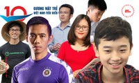"""Choáng ngợp với """"profile"""" đáng nể của 10 Gương mặt trẻ Việt Nam tiêu biểu năm 2020"""