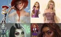 """Loạt nhân vật hoạt hình được nhân cách hóa, đỉnh nhất là Lilo trong """"Lilo & Stitch"""""""