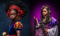 """Bộ ảnh tuyệt đẹp của các nàng công chúa Disney đến từ """"vương quốc Wakanda"""""""