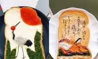 trang trí bánh mì sandwich