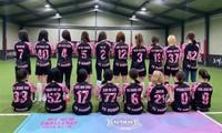 Đội bóng đá của các nữ idol K-Pop còn chưa kịp thi đấu đã phải tan rã vì lý do khó tin