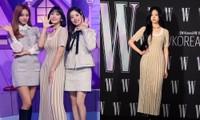 """Nhờ màn đụng hàng của Momo và Kim Min Joo mới thấy mẫu váy này """"thần thánh"""" cỡ nào"""