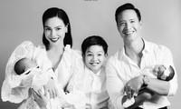 """Hồ Ngọc Hà khoe ảnh gia đình hạnh phúc mà netizen chỉ thắc mắc về nhan sắc """"mẹ bỉm sữa"""""""