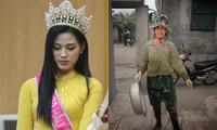 Vì sao Hoa hậu Đỗ Thị Hà bật khóc khi nhắc tới bức ảnh chụp khi đi làm ruộng?