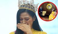 Sự thật phía sau bức ảnh Hoa hậu Đỗ Thị Hà trở về trường Đại học khiến netizen hiểu lầm
