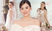 Á hậu Tường San khoe thêm ảnh cưới: Váy đã đẹp, dung nhan cô dâu còn kiều diễm hơn nữa