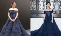 """Chưa rút kinh nghiệm sau váy Công Trí, Dương Tử lại tự """"dìm hàng"""" do chọn sai trang phục"""