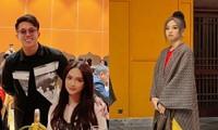 Cùng dự show thời trang bên bạn trai mà sao Hương Giang và Phương Nga đối lập thế này?