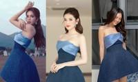 Chiếc váy thần thánh của NTK Lê Thanh Hòa: Cô gái nào mặc cũng hóa chân dài eo thon