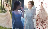 Sao nữ C-Biz đọ váy tại Tinh Quang Đại Thưởng: Ai cũng như tiên nữ giáng trần