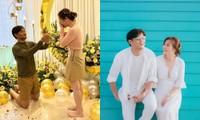 """Khoảnh khắc cầu hôn của Quý Bình bất ngờ bị netizen """"mổ xẻ"""" vì một hành động sai sai"""