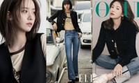 """Đỉnh như Lisa: Một set đồ mà đụng hàng tới hai """"tường thành sắc đẹp"""" Song Hye Kyo, Yoona"""