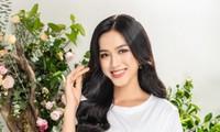 Tạm biệt hình ảnh lộng lẫy sang chảnh, Hoa hậu Đỗ Thị Hà ngọt ngào như nàng tiên hoa