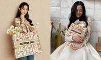 Cùng xách túi Dior nhưng vì đâu Jisoo được khen còn Triệu Lệ Dĩnh bị bảo thiếu khí chất?