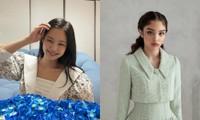 Ngạc nhiên chưa, fan Trung tặng Jennie váy của thương hiệu Việt và trông cực hợp dáng cô nàng