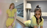 Đắng như Thiều Bảo Trâm: Vừa khoe dáng đã bị nghi mặc đồ nhái của váy Jennie diện