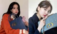 """Đọ quà tặng Dior gửi tới hai """"nàng thơ"""" Suzy và Jisoo BLACKPINK: Ai nhận được đồ """"xịn"""" hơn?"""