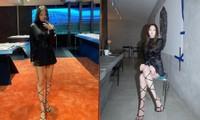 Đi quảng bá kính mắt nhưng Jennie lại khiến netizen mải tập trung vào đôi chân cực phẩm