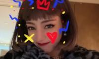 Đội tóc giả chụp selfie, Địch Lệ Nhiệt Ba không ngờ bị netizen nhận nhầm thành Lisa
