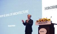 """Kiến trúc sư Hiroshi Naito diễn thuyết về chủ đề """"Chất và Hồn trong kiến trúc"""""""