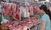 Giá thịt lợn trên thị trường đang tăng từng ngày do thiếu hụt nguồn cung thịt lợn trong nước