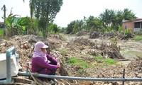 Người dân ở ĐBSCL quay cuồng với nỗi lo thiếu nước sinh hoạt và sản xuất