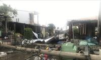Bão số 5 làm nhiều địa phương ở Bắc Trung bộ thiệt hại nặng nề