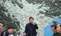 Ông Trần Quang Hoài, Phó Trưởng ban chỉ đạo Trung ương về Phòng chống thiên tai yêu cầu các địa phương không chủ quan, tập trung kêu gọi, hướng dẫn tàu thuyền và chủ động các biện pháp ứng phó với bão số 14.