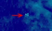 Hình ảnh vật thể lạ nhìn từ vệ tinh do Trung Quôc cung cấp
