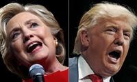 Hai ứng viên Tổng thống Mỹ Hillary Clinton và Donald Trump